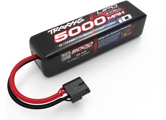 Traxxas 5000Mah 14.8V 4-Cell 25C Lipo Battery (Long)
