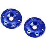 J Concepts B6/B6d Finnisher Aluminum Wing Buttons, Blue