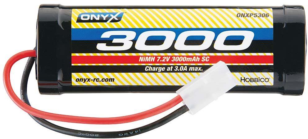 Onyx NiMH 7.2V 3000mAh Sub-C Stick Standard Plug