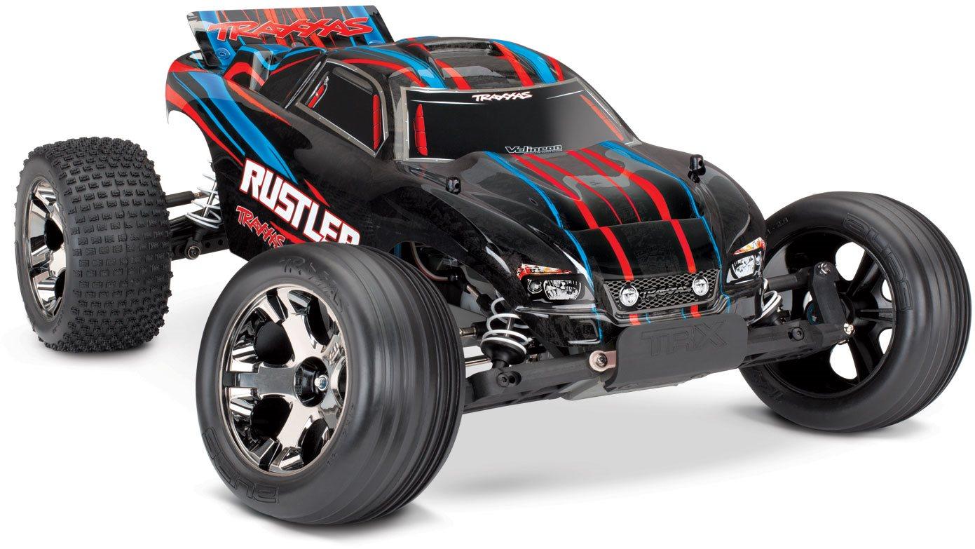 Traxxas Rustler VXL - Red