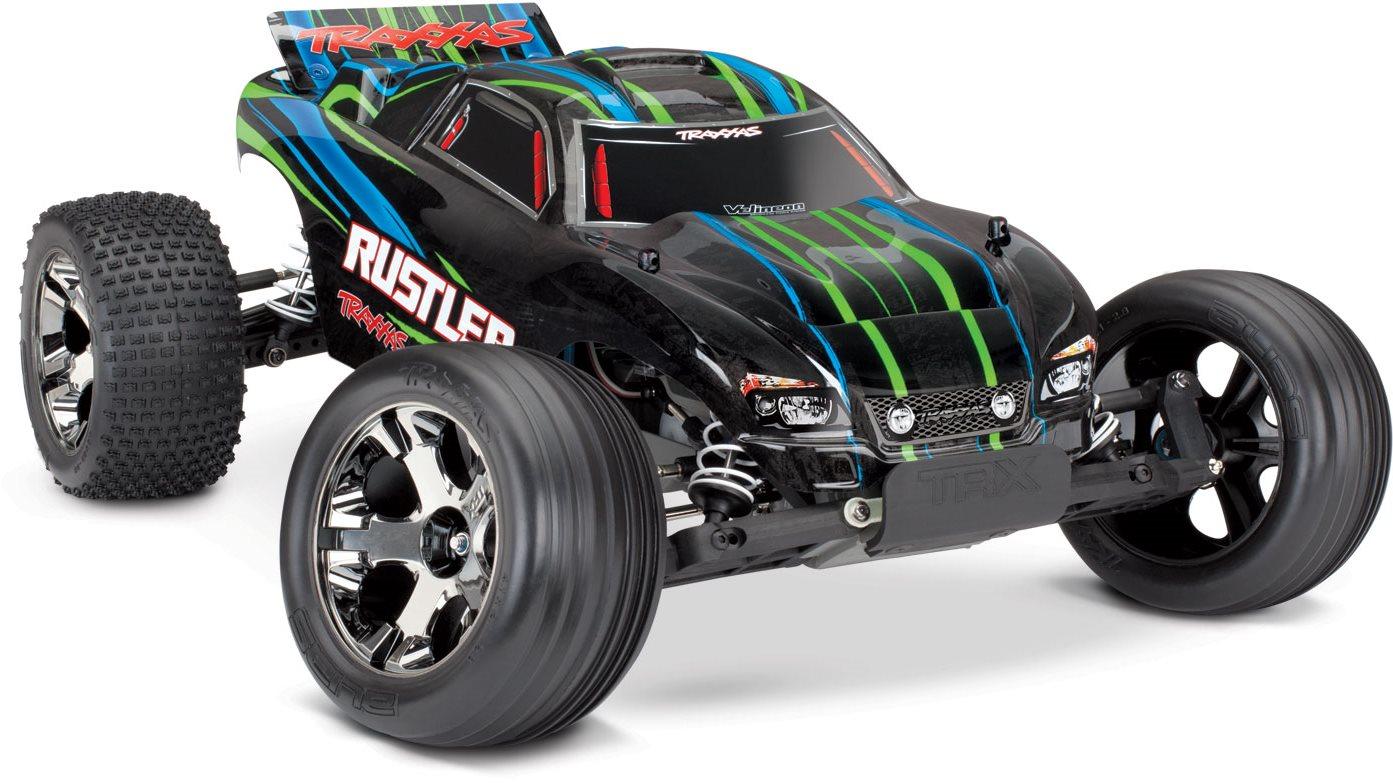 Traxxas Rustler VXL - Green