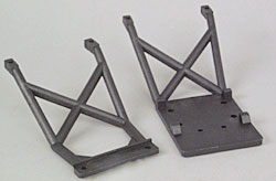 Traxxas Skid Plates Front & Rear (S)