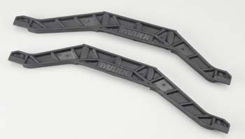 Traxxas Chassis Braces, Lower (Black)