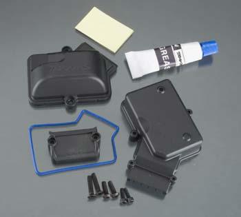 Traxxas Box, Receiver Sealed W/Silicon