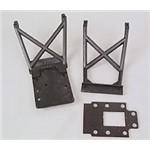 Traxxas Skid Plates F&R/ Fg Tran