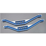 Traxxas Lower Chassis Braces Blue Alum
