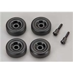 Traxxas Wheels (4) Axles (2) (Wheelie