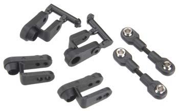 Traxxas Steering Linkage & Servo Horns