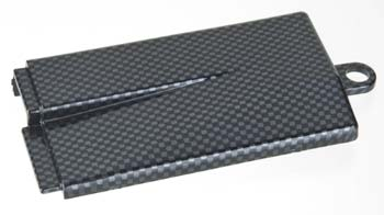Traxxas Battery Cover Mid Chassis Exo-Carbon Finish Jato