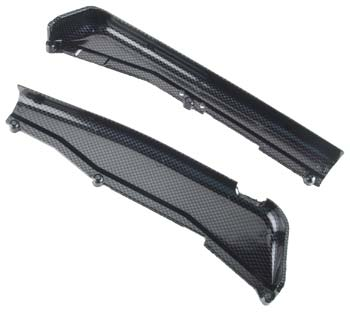 Traxxas Dirt Guards, Left & Right, Exo