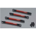 Traxxas Push Rods, Aluminum (Red-Anodized)