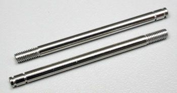 Traxxas Shock Shafts Chrome Long (2)