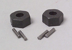 Traxxas Hex Hubs & Axle Pins Slash