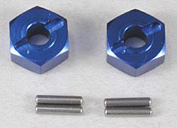 Traxxas Hex Hubs Blue Alum (2) Slash