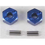 Traxxas Hex Hubs Blue Alum (2) Slash