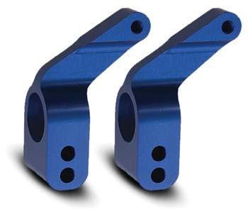 Traxxas Alum Stub Axle Carriers Blue (2)