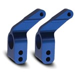 Alum Stub Axle Carriers Blue (2)