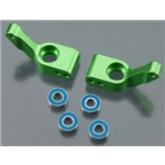 Stub Axle Carriers, Rustler/ Stampede/Bandit Green Anod