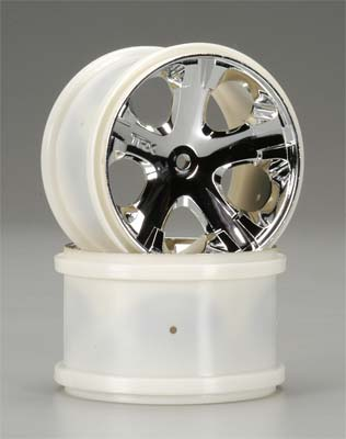 "Traxxas All-Star Wheels 2.8"" Re Chrome (2)"