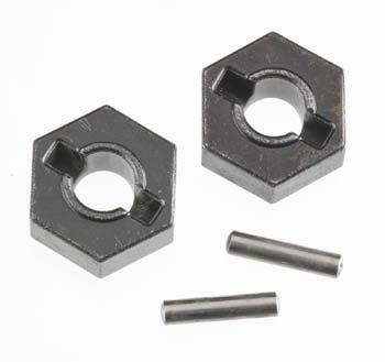 Traxxas Wheel Hubs, Hex (Steel)