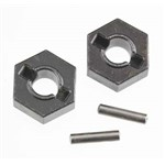Traxxas Wheel Hubs, Hex (Steel)