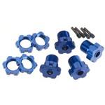 Traxxas Wheel Hubs & Nuts 17Mm Blue 4
