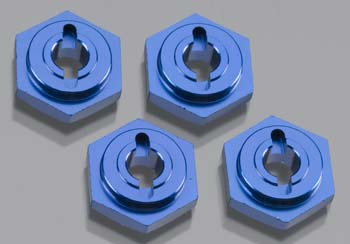 Traxxas Wheel Hubs Hex Alum Blue Anodized (4)