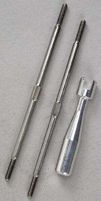 Traxxas Titanium Turnbuckles T-Maxx (2)