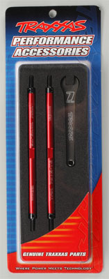 Traxxas Tubes Lghtwght Alum Red Turnbuckle