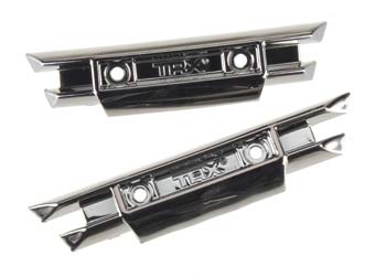 Traxxas Bumpers Front And Rear Black C