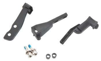 Traxxas Mounts, Rpm Sensor (Nitro)/3X 10Mm Cs W/Split & Flat Washers