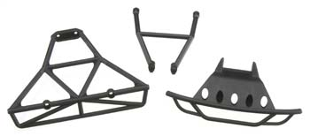 Traxxas Bumpers, Front (1)/ Rear (1) (