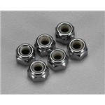 Traxxas Nuts, 4Mm Nyl Locking