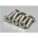 Traxxas Countersunk Screws 4x12mm (6)
