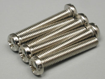 Traxxas Round Head Machine Screws 3x20mm (6)