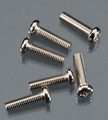 Traxxas 4 X 15Mm Rhm Screws (6)
