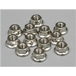 3Mm Flang Nuts/12
