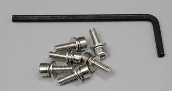 Traxxas Hex Screws 3x10mm Nitro Hawk (6)