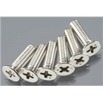 Traxxas Screws Countersunk 4X15mm (6)