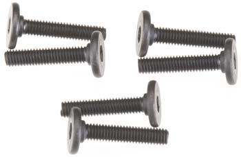 Traxxas 3X15mm Screws Flat-Head (Hex Drive) (6)