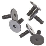 3X8mm Screws Flat-Head (Hex Drive) (6)