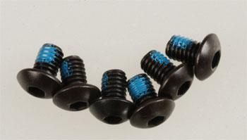 Traxxas 4 X 6Mm Bttnhd Machine Screw (6) W/Threadlock Revo
