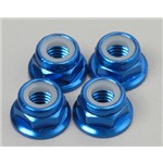 Nuts 5Mm Flanged Alum