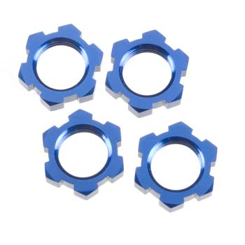 Traxxas Wheel Nuts 17Mm Blue 4
