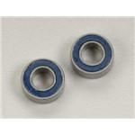 5 X 10 X 4Mm Ball Bearing (2) Blue Rubber Shield R Evo