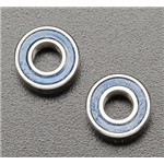 5 X 11 X 4Mm Ball Bearing (2) Blue Rubber Shield R Evo