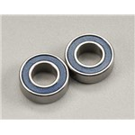 Traxxas 6 X 12 X 4Mm Ball Bearing (2) Blue Rubber Sheild R Evo