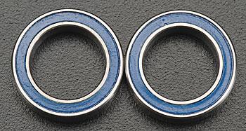 Traxxas 10 X 15 X 4Mm Ball Bearing (2) Blue Rubber Sheild Revo