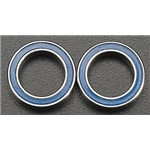 Traxxas 10 X 15 X 4Mm Ball Bearing (2) Blue Rubber Sheild Revo