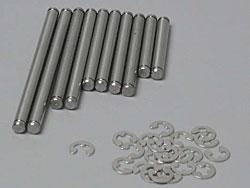 Traxxas Stainless Suspension Pin Set TRX1 (10)